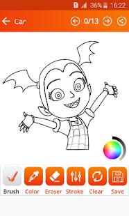How To Draw Vampirina (Vampirina games) - náhled