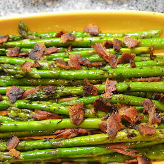 Asparagus with Lemon-Bacon Vinaigrette