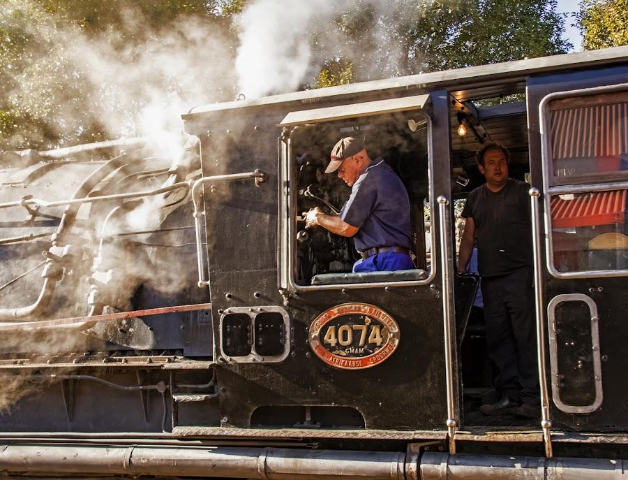 NR 4074 by Elna Geringer - Transportation Trains