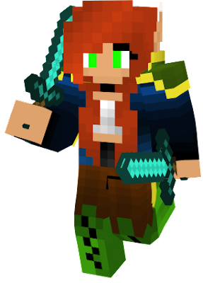 Red-haired warroir elf