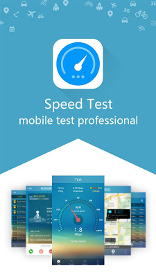 Speed Test - 3G,4G,Wifi Test - screenshot