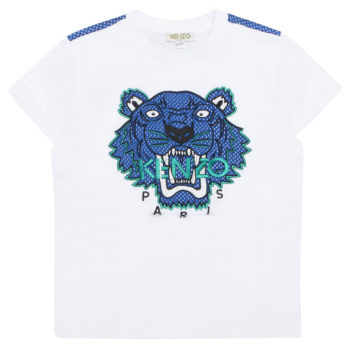 Primary image of Kenzo Kids Mesh Tiger T-shirt