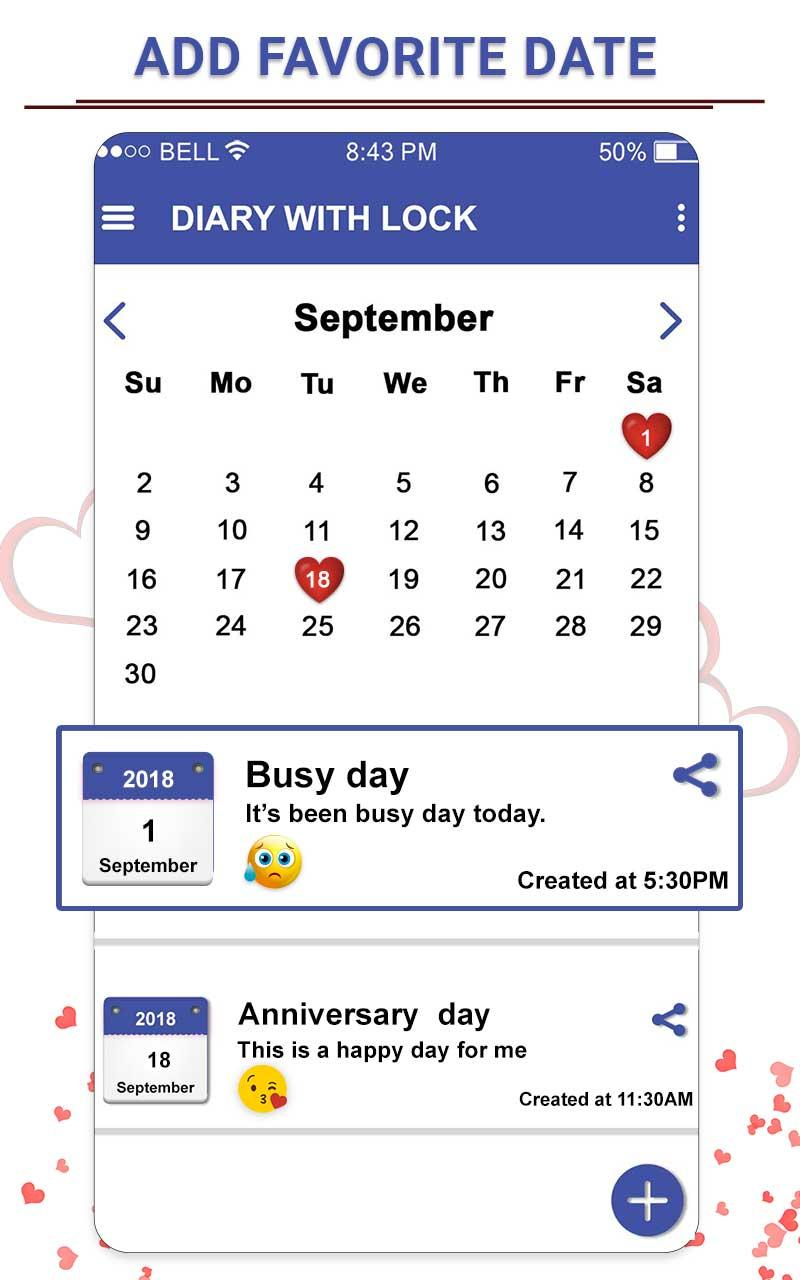 Secret Diary With Lock - Diary With Password Screenshot 4