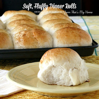 Big, Soft, Fluffy Dinner Rolls