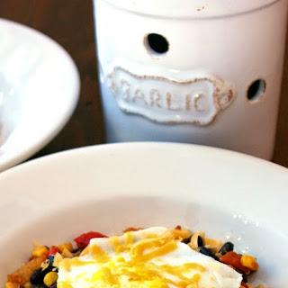 Warm Corn Salad with Huevo Frito