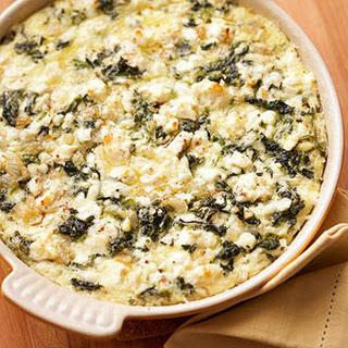 Spinach and Feta Casserole.