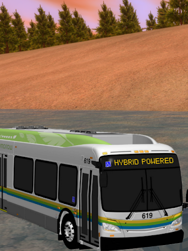 Bus Off Road Driving