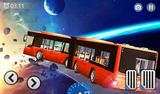 Sky Bus Driving Impossible Track - Futuristic Game - náhled