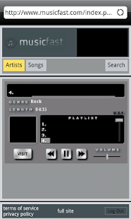 Music Fast Free Version- screenshot thumbnail