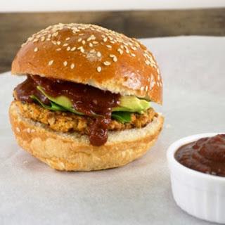 BBQ Chickpea Burgers [Vegan, Gluten-Free]
