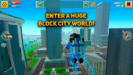 Block City Wars + skins export Screenshot