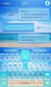 TouchPal Cool Summer Theme screenshot 2