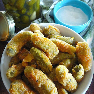 Southern Fried Dill Pickles.
