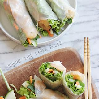 Shrimp Rice Paper Roll Recipes.