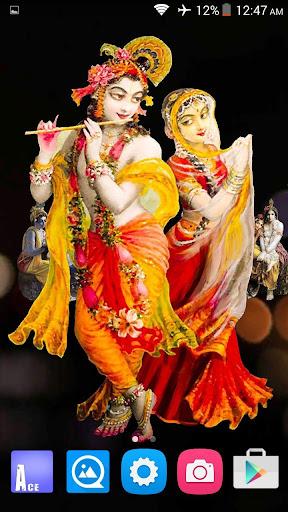 radha krishna 3d live wallpaper 9apps