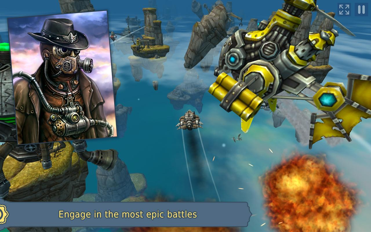 Sky to Fly Faster Than Wind 3D- screenshot