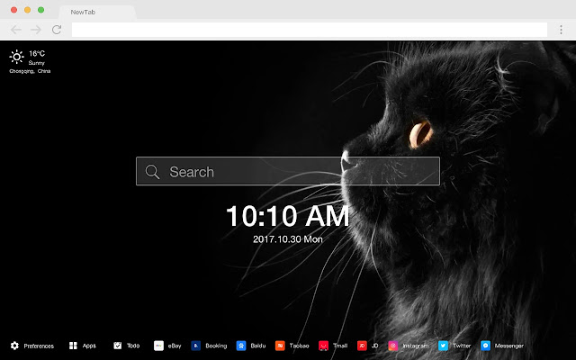 Cat New Tab Page HD Wallpapers Pop Pets Theme