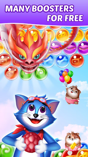 Tomcat Pop: New Bubble Shooter screenshots 2