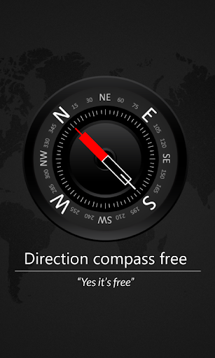Direction compass free