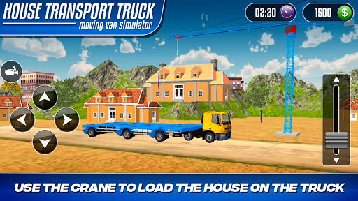 House Transport Truck Moving Van Simulator 1.0 screenshots 5