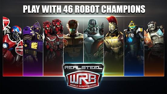 Real Steel World Robot Boxing 29.29.800 APK + MOD (Money) + DATA