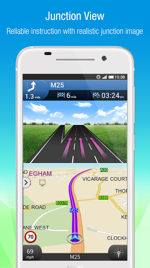 Polnav mobile Navigation- screenshot