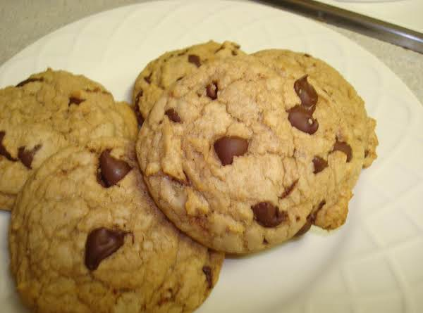 Christmas Chewy Chocolate Chip Cookies Recipe
