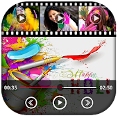 Holi Photo To Video With Music