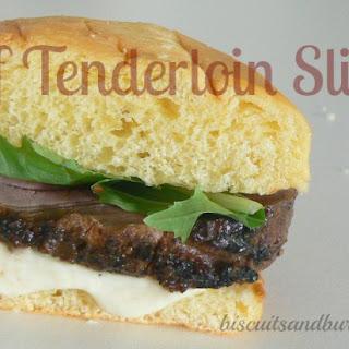 Bourbon-Glazed Cajun Beef Tenderloin Sliders