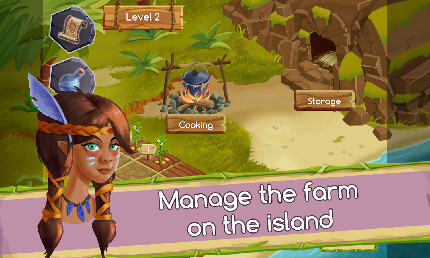 Island Oasis Idle Tycoon - Survival Garden Game- screenshot