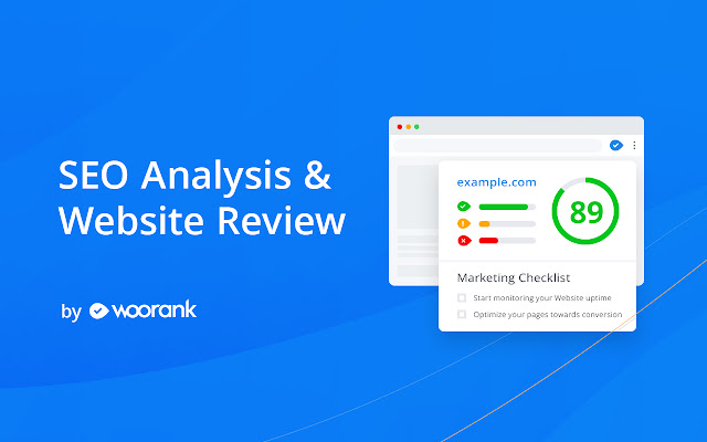 SEO Analysis & Website Review by WooRank