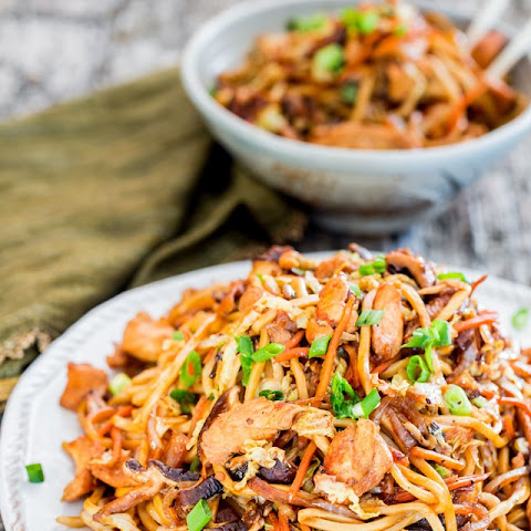 10 Best Chicken Lo Mein With Cabbage Recipes Yummly