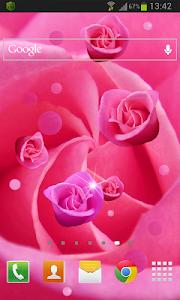 Pink Rose Live Wallpaper v1.2