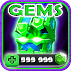 Gems For Clash Royale [ Cheats 2017 ] - prank icon