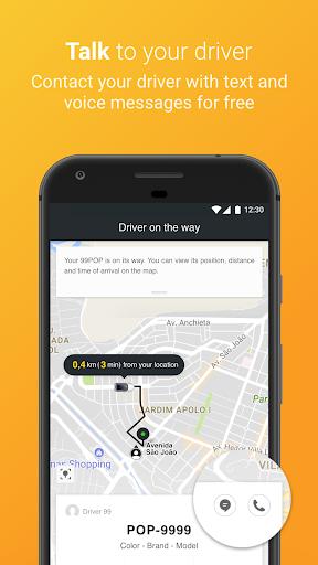 99 POP - Ridesharing 6.1.8 screenshots 3