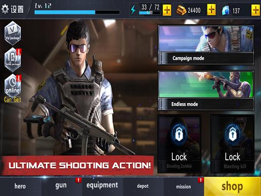 Télécharger gratuit Zombie Survival - Jeux de tir 3D Sniper Arena APK MOD 1