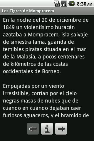 Los Tigres de Mompracem - screenshot