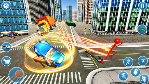 Flash Stickman Rope Hero u2013 Speed Hero Crime City 1.7 screenshots 1