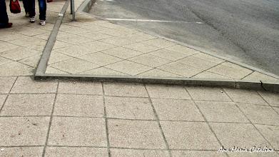Photo: Turda - Piata Republicii - bordura de care m-am impiedecat in statia de autobus...(2012.04.04