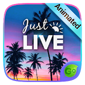 Just Live GO Keyboard Animated Theme