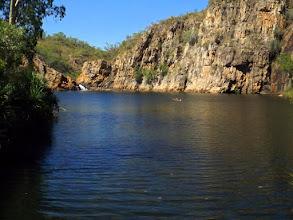 Photo: Unterer Pool an den Edith Falls