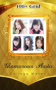 New Glamorous Photo Collage Maker - náhled