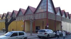 Exterior de la Plaza de Abastos de Albox.
