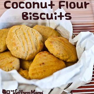 Coconut Flour Biscuits.