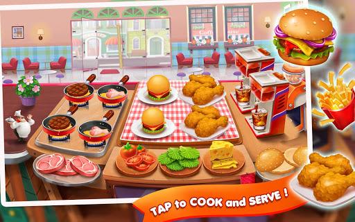 Code Triche Restaurant Fever: Chef Cooking Games Craze APK MOD screenshots 3
