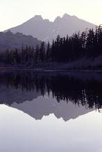 Photo: Broken Top Reflection, Three Sisters Wilderness, Cascade Mountains, Oregon
