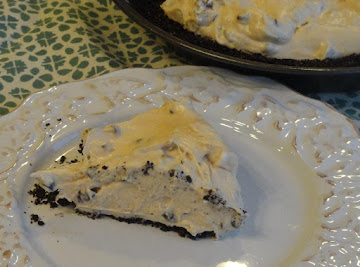 Chocolate Chip Peanut Butter Cream Cheese Pie Recipe