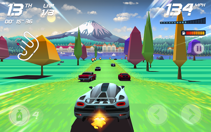 Horizon Chase - World Tour- screenshot