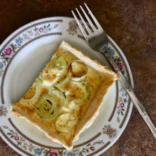 Leek and Goat Cheese Tart Recipe