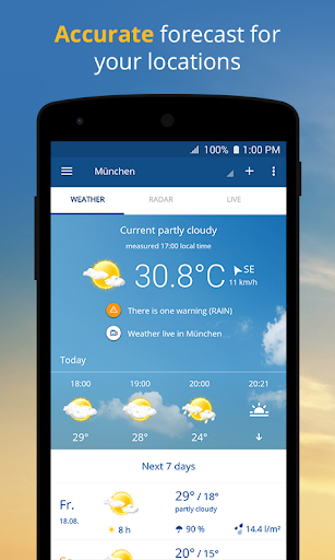 wetter.com - Weather and Radar screenshot 1